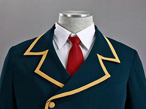 Mtxc Men's Love, Elections & Chocolate Cosplay Costume Ohjima Yuuki School Uniform Size XXX-Large Blue by Mtxc (Image #6)
