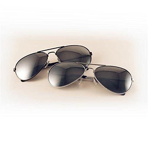 UB The Original Aviator Sunglasses - Full Mirror - Label Private Sunglasses