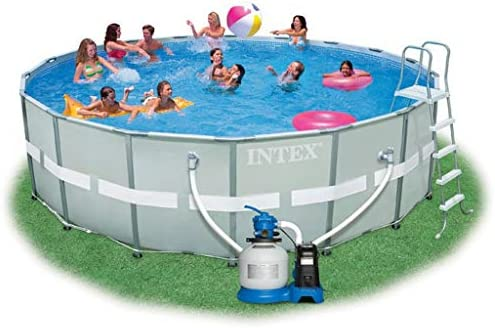 Intex Kit piscina tubular Ultra Frame diámetro 5.49 M x 1.32 M ...
