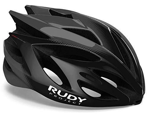 Rudy Project Rush Helmet Black/Titanium Shiny 2020 Fietshelm