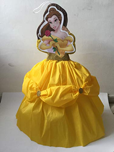 - BEAUTY PIÑATA. BELLA BIRTHDAY PARTY. BELLA AND THE BEAST DECORATION. PRINCESS BELLA AND THE BEAST BIRTHDAY PARTY. PRINCESS PARTY.