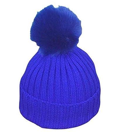 Sunei.f 1 Pcs Sombrero para niños Gorras para bebés Gorro de Punto de Primavera