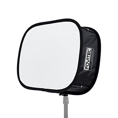 Fovitec - 1x JL650 LED Softbox w/Carrying Case - [Softens Light][Removes Shadows][Reduces Overexposure][Collapsible Frame][Ideal for Travel] by Fovitec