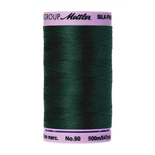 - Mettler Silk-Finish Solid Cotton Thread, 547 yd/500m, Swamp