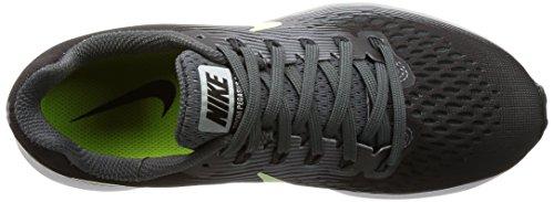 Femmes Nike Air Zoom Pegasus 34 Chaussure Gris Foncé / Gris À Peine Volt-loup De Roulement (6,5)