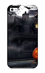 Fashion Tpu Case For Iphone 5c- Halloween Defender Case Cover