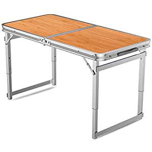 Jia He Mesa Plegable Mesa y sillas Plegables portátiles ...