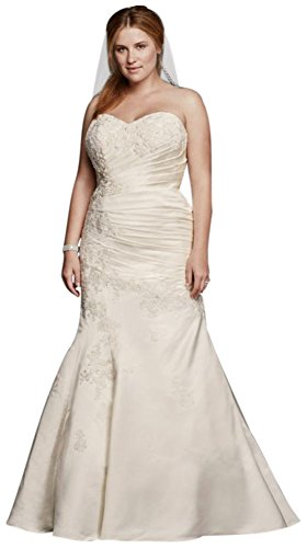 Plus size trumpet style wedding dresses 28 images david s plus size trumpet style wedding dresses satin trumpet plus size wedding dress with beading style junglespirit Images