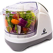 POSAME Chopper Dual Blade 1.5 Cup One Touch Mini Food Chopper Food Processor