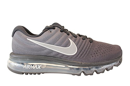 Nike Air Max 2017 GS Running Trainers 851622 Sneakers Shoes (UK 3.5 Us 4Y EU 36, Black Summit White Anthracite 001)