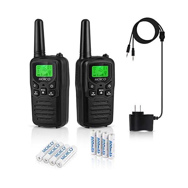 MOICO Rechargeable walkie talkies
