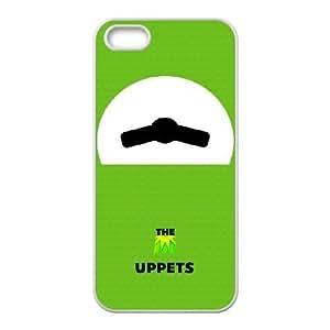 Generic for iPhone 5 5s Cell Phone Case White Muppets Kermit Custom HFOKHJHLK3913