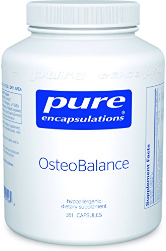 Pure Encapsulations OsteoBalance Hypoallergenic Mineralization