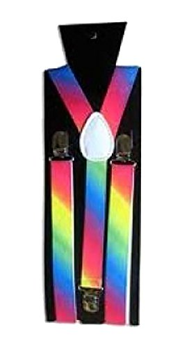 Size Suspender Rainbow Mujer One Negro 21fashion n8wUxAqIU