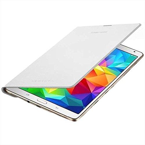 Samsung EF-BT700BWEGWW Book Cover per Galaxy Tab S 8.4, Bianco