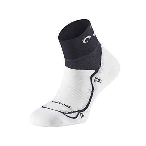 Lurbel RACE - Calcetines, Unisex, Blanco - (Blanco/Negro): Amazon.es: Deportes y aire libre