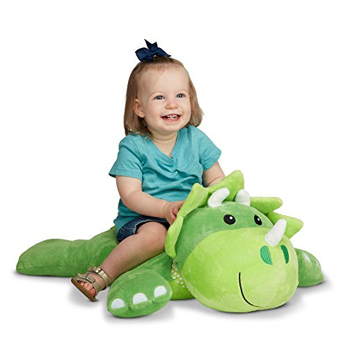 Melissa & Doug Cuddle Dinosaur Jumbo Plush Stuffed Animal with Activity Card (Great Gift for Girls and Boys - Best for All Ages)