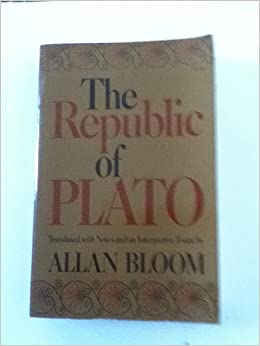 the republic of plato translated notes and an interpretive  the republic of plato translated notes and an interpretive essay allan bloom com books
