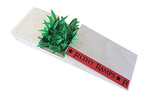 Filthy Fingerboard Ramps Pocket Kicker Planter Fun Box from, for fingerboards and tech Decks by Filthy Fingerboard Ramps