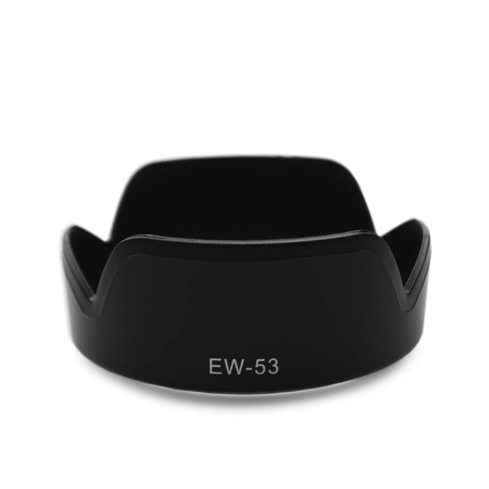 kit de parasol de lente filtro de protecci/ón UV+Canon EF-M15-45mm F3.5-6.3 IS STM Lente reversible A kinokoo Kit de accesorios de lente de c/ámara de filtro UV de 49mm para Canon EOS M50//M100//M10//M6