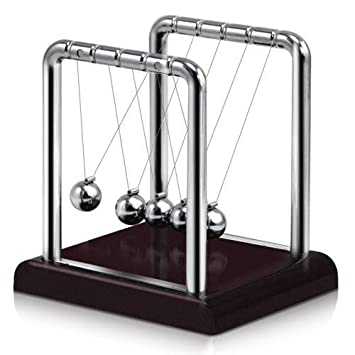 Swinging balls desk top