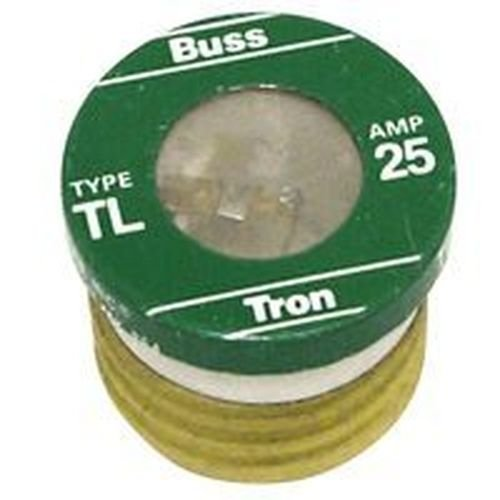 New Lot of (16) Tl-25 Bussman 25 Amp Screw In Base House Plug Fuses - Bases Fuse