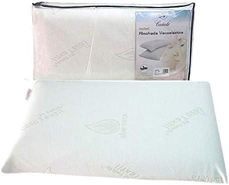 Almohada viscoelástica tamaño 90cm Textil hogar Hogar y