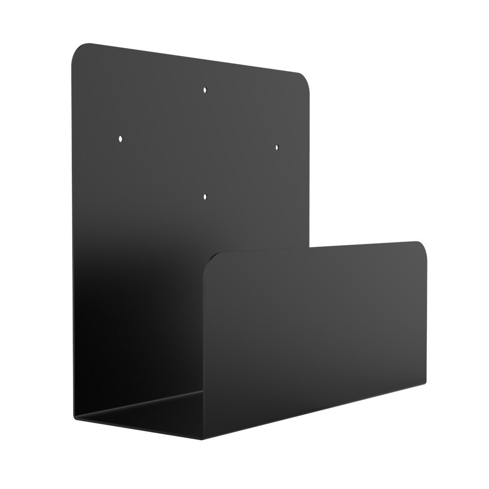 Oeveo Side Mount 154 - 11H x 5W x 12D | Computer Wall Mount for Dell Optiplex Desktop Computers and UPS Wall Mount for APC Units | SCM-154