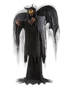 Spirit Halloween 6 Ft Forest Demon Animatronics – Decorations
