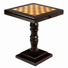 Frenchi Home Furnishing Chess/Game Table with Two Drawers