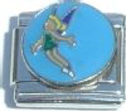 Tinkerbell Charm Bracelet - Tinker Bell Blue Italian Charm