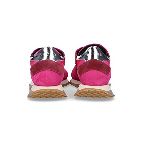 Ghoud Kvinder Rslwns11 Fuchsia Ruskind Sneakers dsrnPxCFSq