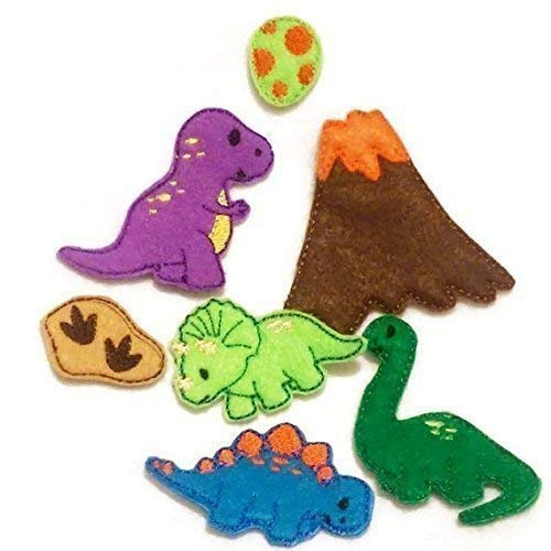 Build your own Quiet Book Dinosaur play activity #41