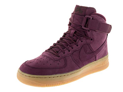 Nike Kids Air Force 1 High WB (GS) Bordeaux/Bordeaux Basketball Shoe 5.5 Kids US