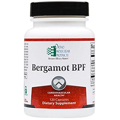 Image of Health and Household Bergamot BPF, Ortho Molecular Products - 120 Capsules