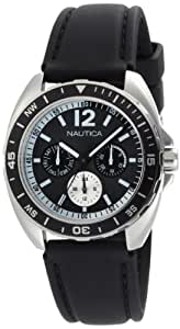 Nautica N09910G - Reloj de pulsera hombre, Resina, color Negro