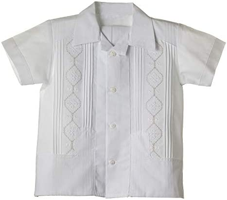 Lito Boys Poly Cotton Pintuck Shirt and Shorts Christening Baptism Outfit