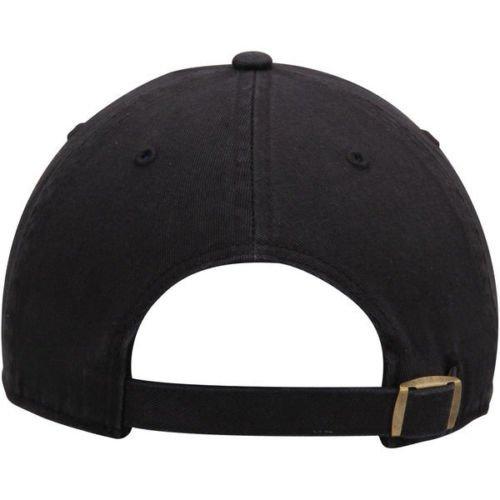 eabeb547d1a 47 Brand Los Angeles LA Dodgers Clean Up MLB Dad Hat Cap Black White ...