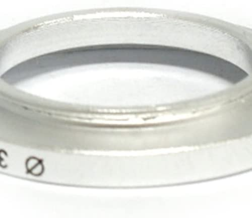 silver 30mm Lens to 37mm Accessory Generic 30-37mm Step-Up Metal Adapter Ring