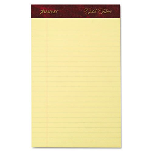 TOP20029 - TOPS Gold Fibre Premium Jr. Legal Writing Pads