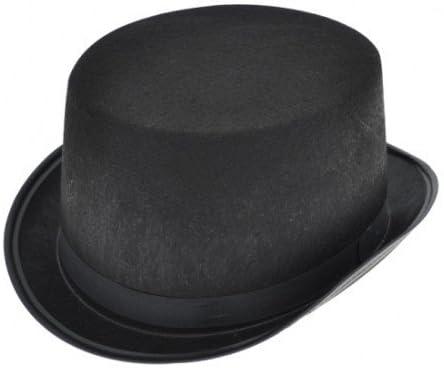 Zeagro - Sombrero de Fieltro Negro para Disfraz, Accesorio de ...
