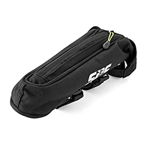 SLS3 SMALL Cycling Top Tube AERO Bag | Bicycle Fuel Bags | Time Trial | Triathlon | Stable and Secure Phone Bike Bags | Low Profile Bike Stem Frame Bag