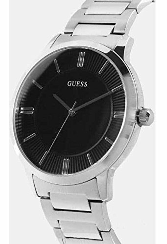 Amazon.com: Guess Watches Mens Guess Mens Silver-Black Watch: GUESS: Watches