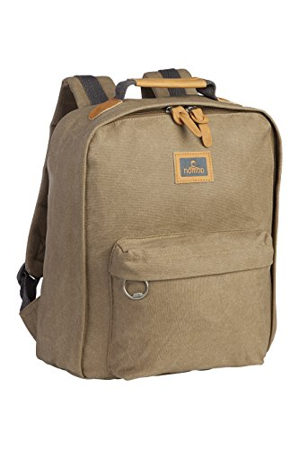 Nomad Clay Waxed Canvas Backpack Natural 2016 Wanderrucksack