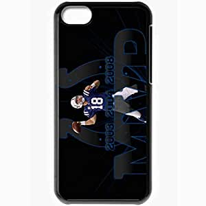 Personalized iPhone 5C Cell phone Case/Cover Skin 14578 MVP by monkeybiziu Black