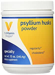 the Vitamin Shoppe Psyllium Husks Powder 12 Powder