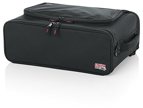 Gator Cases Lightweight Rack Bag with Removable Shoulder Strap; 3U Rack - 12.5 Rackable Depth (GR-RACKBAG-3U)