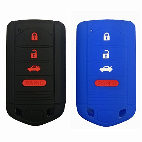 2pcs-coolbestda-silicone-key-fob-jacket-cover-case-skin-remote-shell-wallet-for-acura-mdx-tl-tlx-zdx