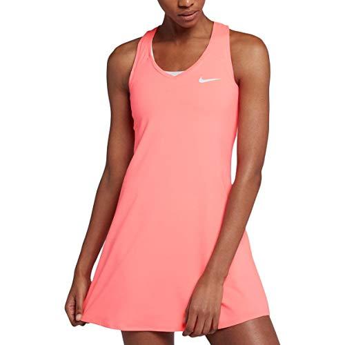 Dress Nike Tennis (Nike Womens Tennis Fitness Dress Orange S)