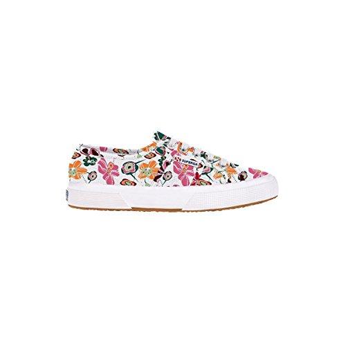 Superga - Zapatillas de deporte de lona para mujer Multiflower